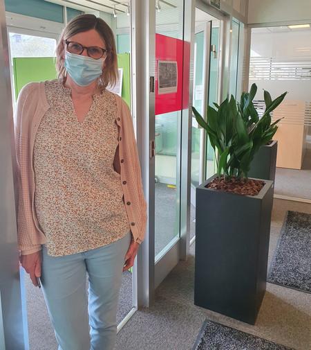 Sprogcenterleder Inger Andersen